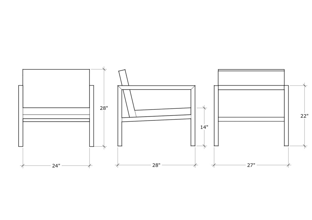 layout -lounge chair (leather)_1